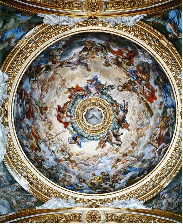 Church Ceiling Dome Mural Project Part 1 Tracy Lee Stum