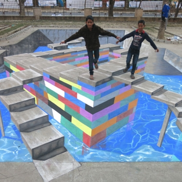3D-Penrose-Staircase-kids