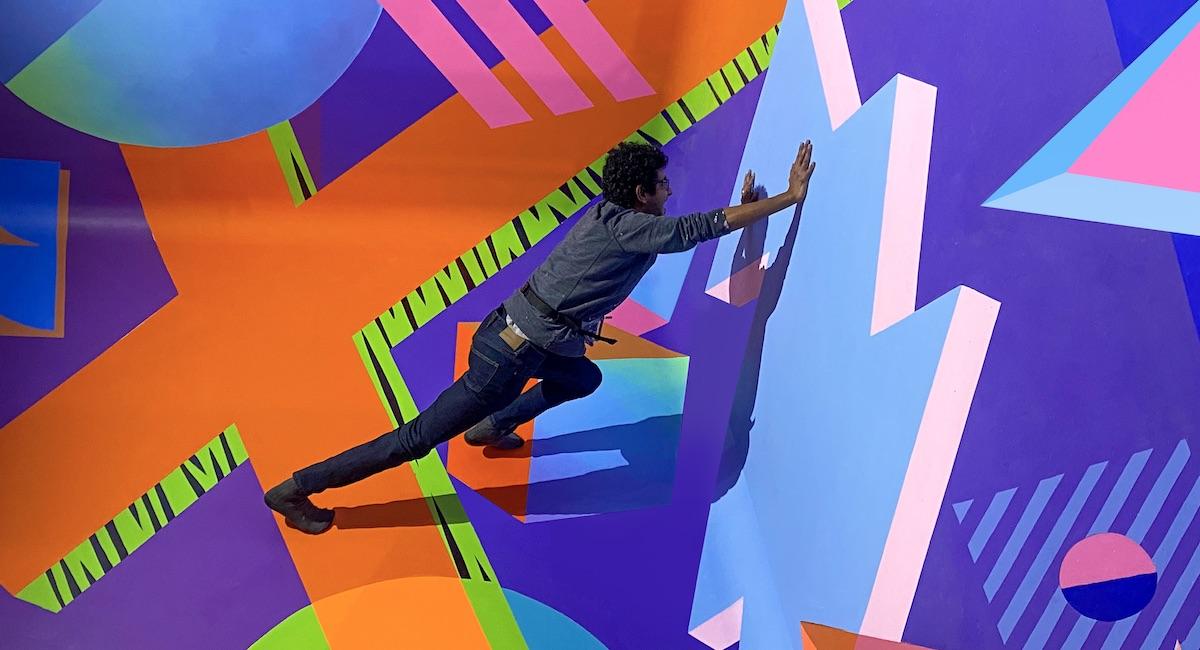 Pop-Art Playpen Illusion